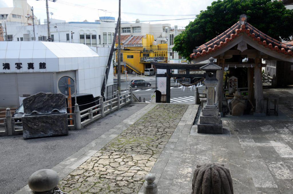 はるかなレシーブ聖地巡礼宜野湾神社2