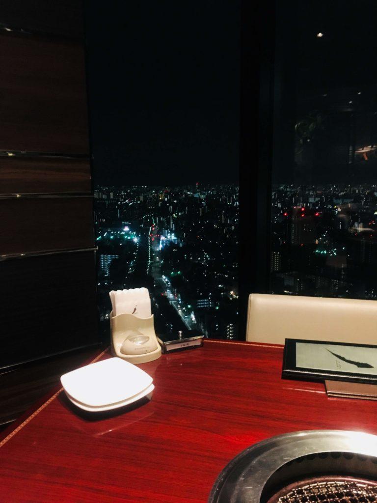 叙々苑 東京スカイツリータウン・ソラマチ店夜景