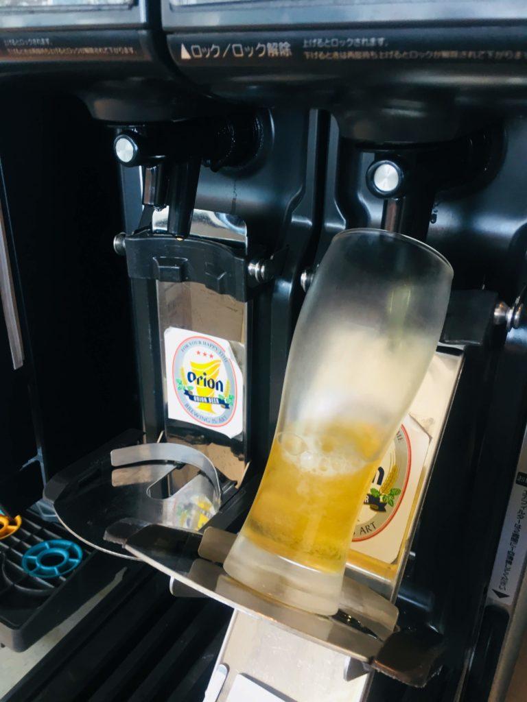 那覇空港ANAラウンジオリオンビールサーバー