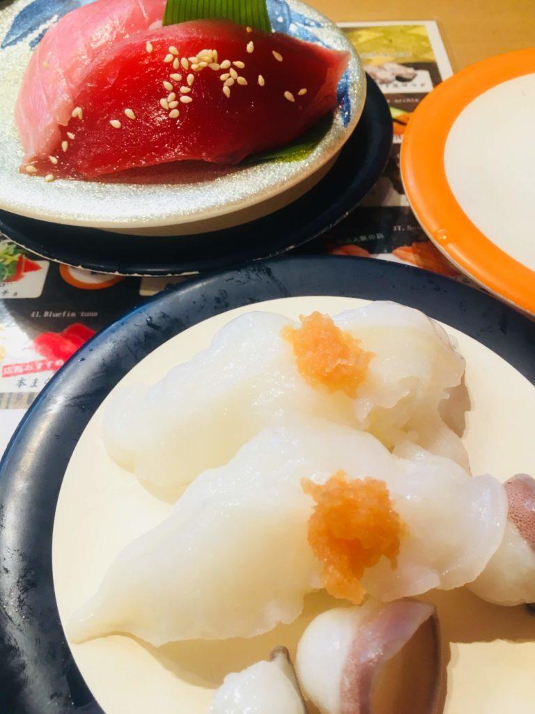 魚屋さんの新鮮回転寿司横須賀中央店生たこ