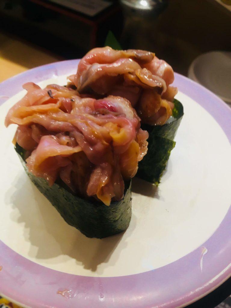 魚屋さんの新鮮回転寿司横須賀中央店赤貝ひも