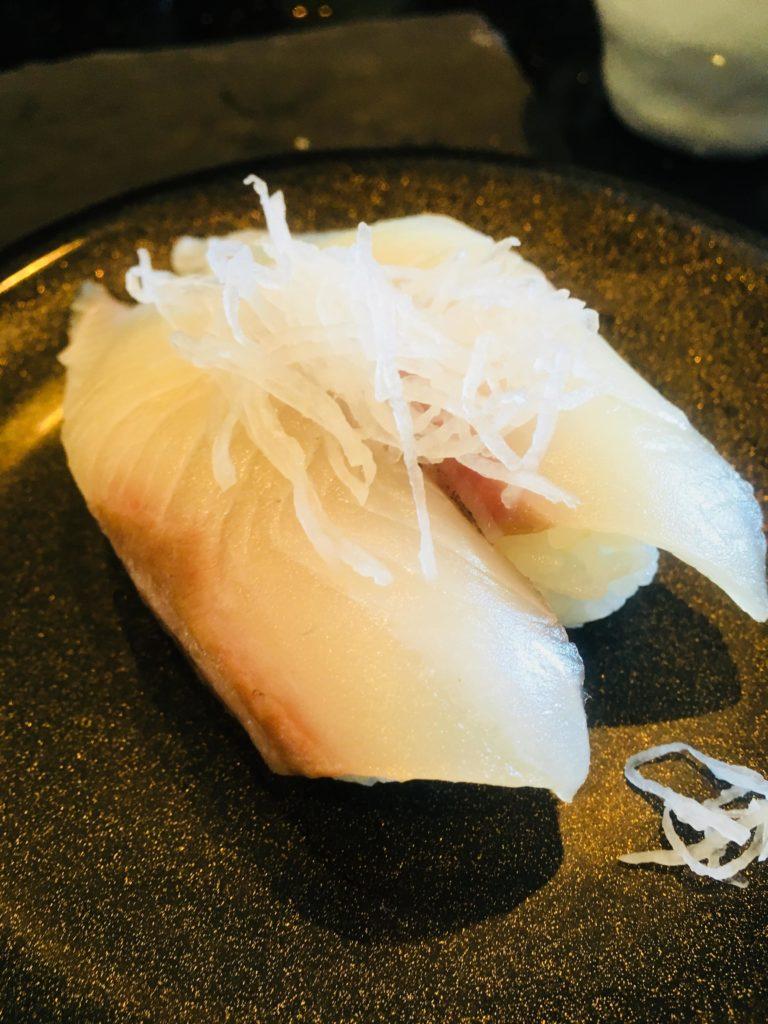 沖縄那覇空港回転寿司海來寿司2