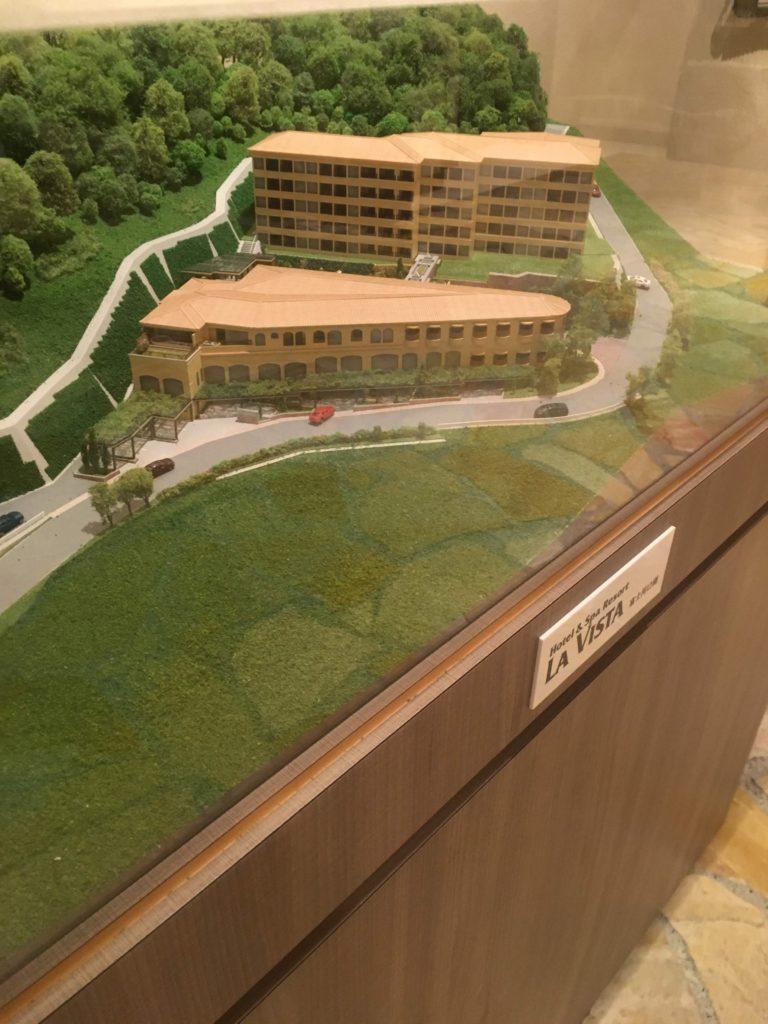 ラビスタ富士河口湖模型
