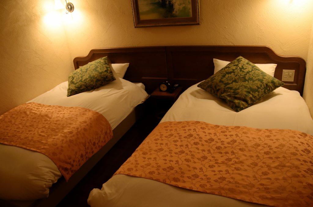 ラビスタ富士河口湖寝室ベッド