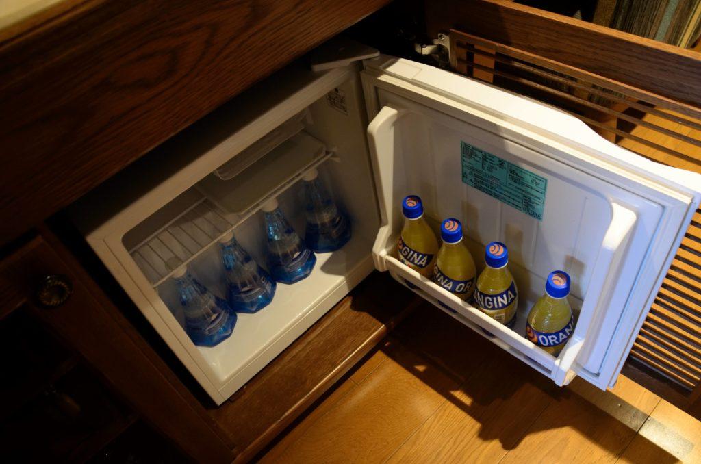 ラビスタ富士河口湖冷蔵庫の無料の飲み物