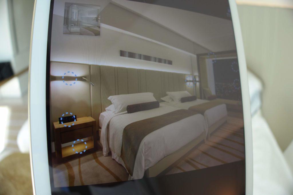 ザ・プリンスギャラリー東京紀尾井町,ラグジュアリーコレクションホテルお部屋のiPadで操作