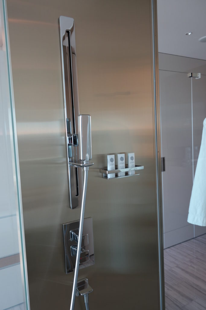 ザ・プリンスギャラリー東京紀尾井町,ラグジュアリーコレクションホテルお部屋シャワー