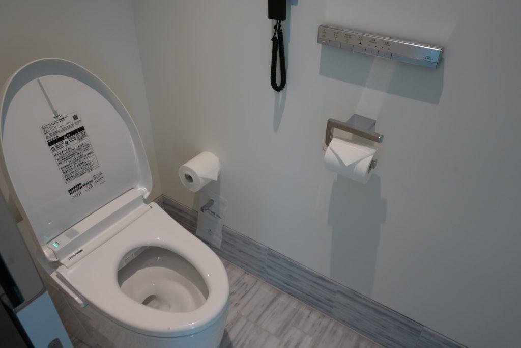 ザ・プリンスギャラリー東京紀尾井町,ラグジュアリーコレクションホテルお部屋トイレ