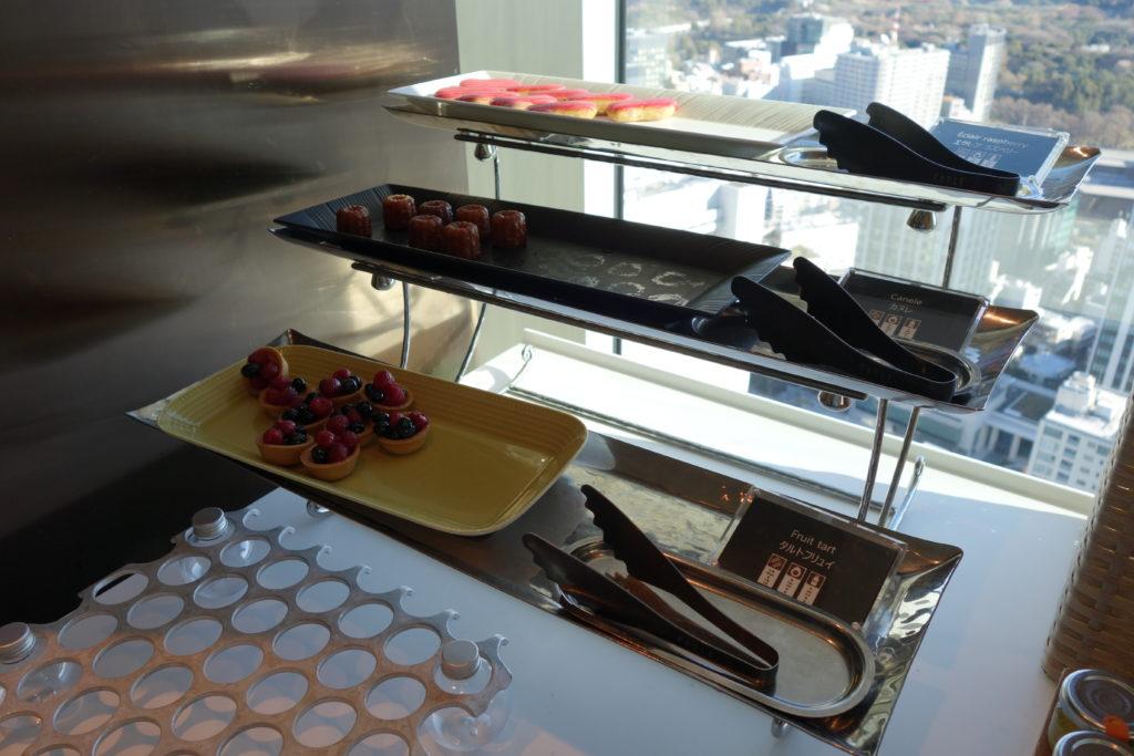ザ・プリンスギャラリー東京紀尾井町,ラグジュアリーコレクションホテル朝食デザート
