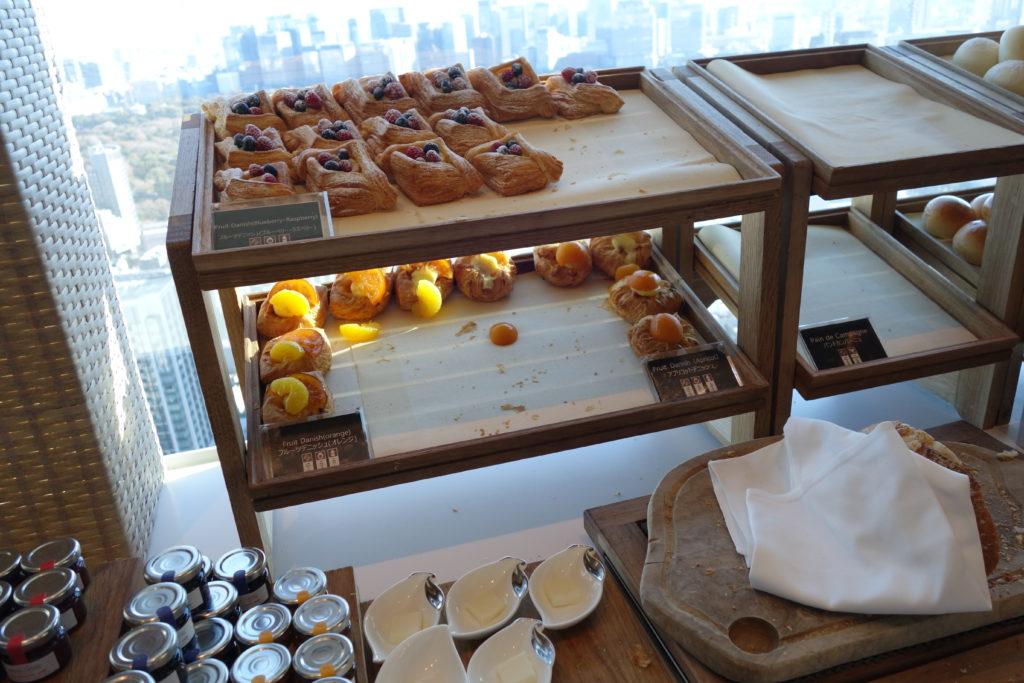ザ・プリンスギャラリー東京紀尾井町,ラグジュアリーコレクションホテル朝食パン