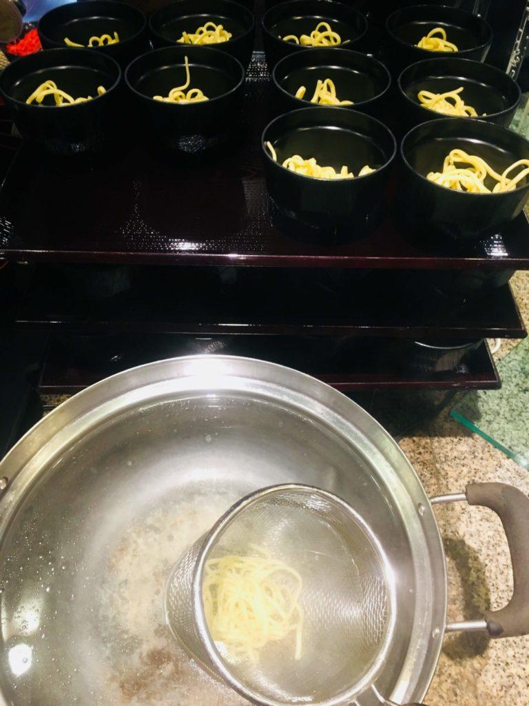 ホテルロコアナハ朝食沖縄そば