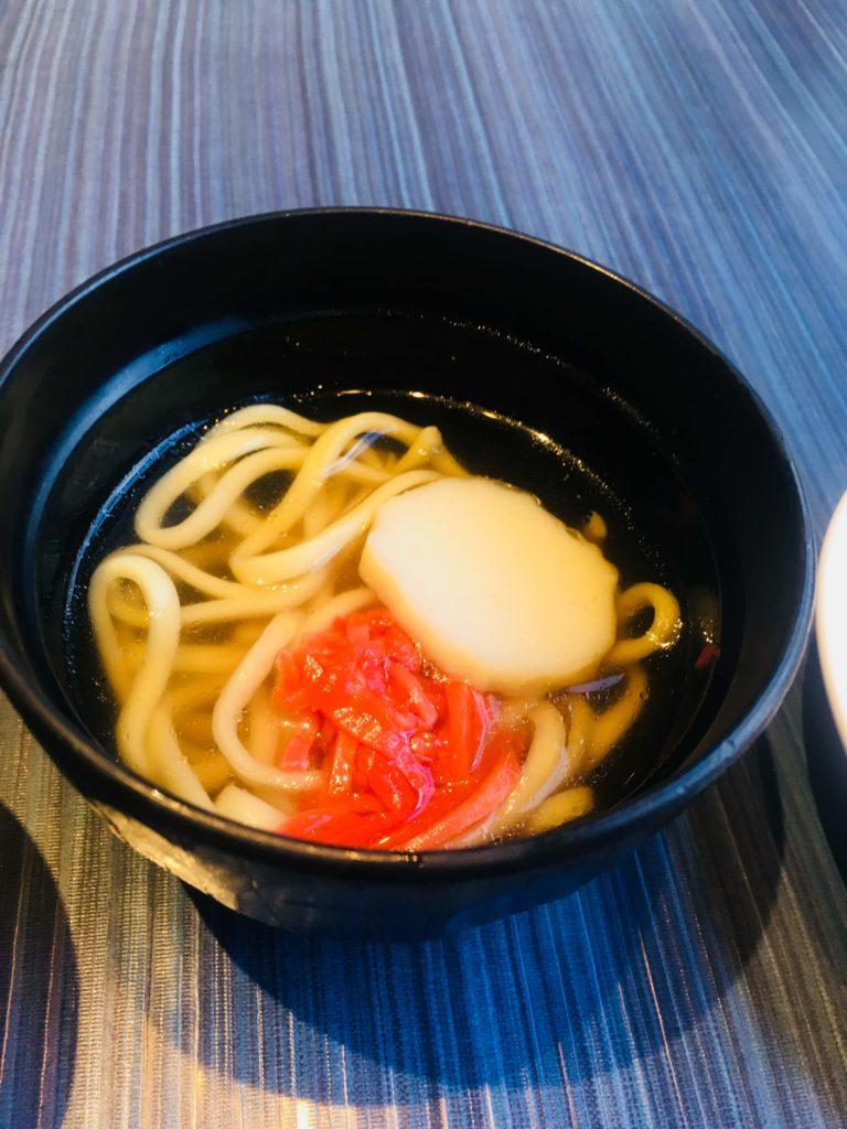 ホテルロコアナハ朝食沖縄そば2
