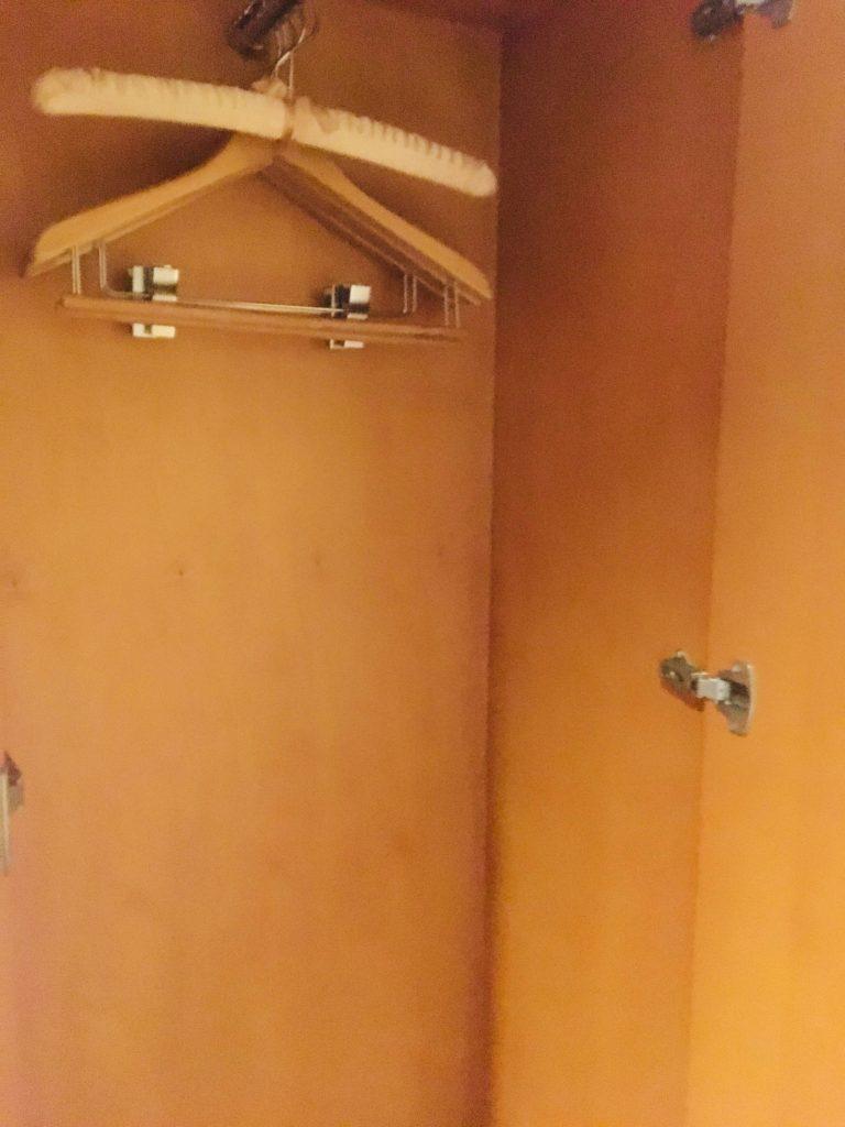 ホテルロコアナハ部屋クローゼット