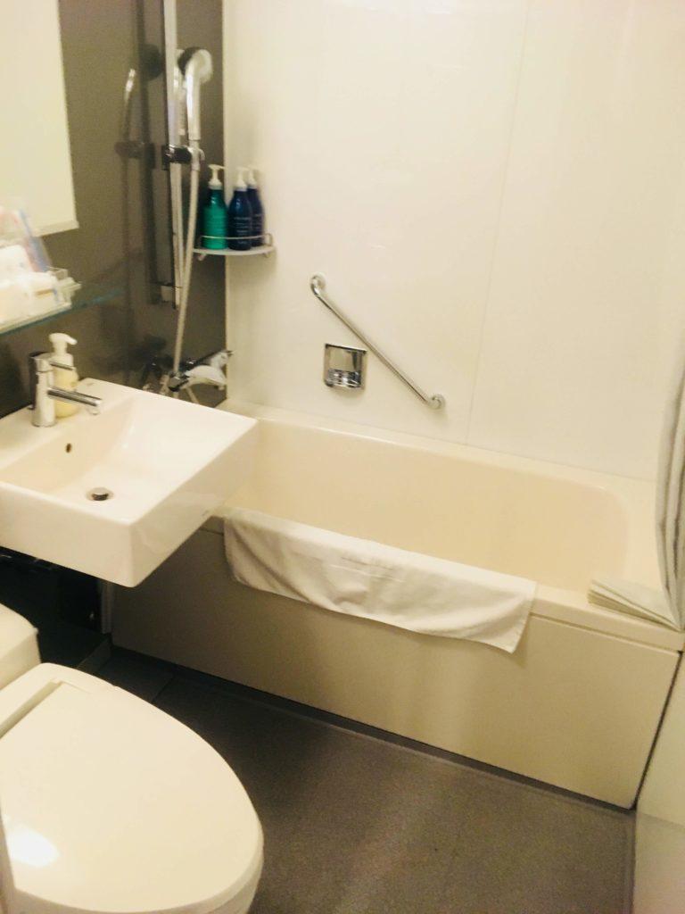 ホテルロコアナハ部屋お風呂