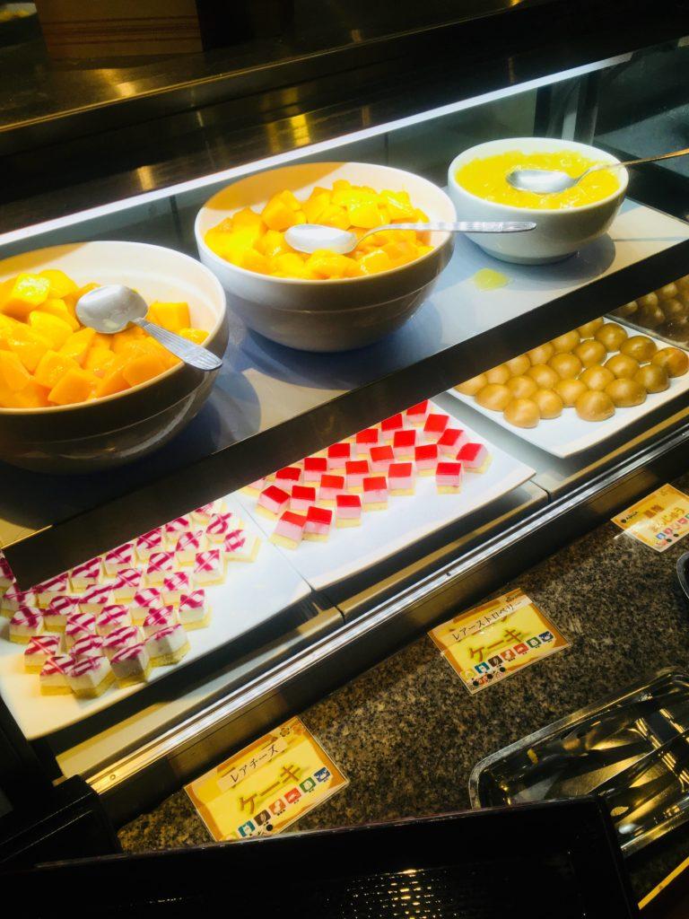 ホテルロコアナハ朝食デザート