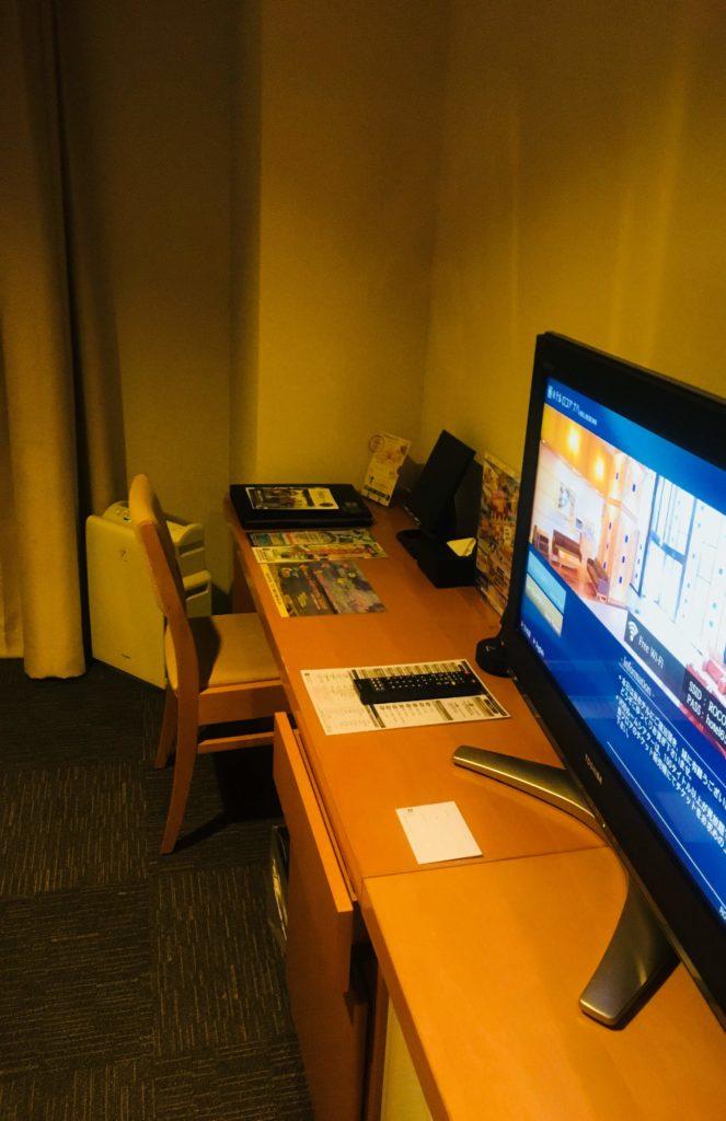 ホテルロコアナハ部屋テレビ