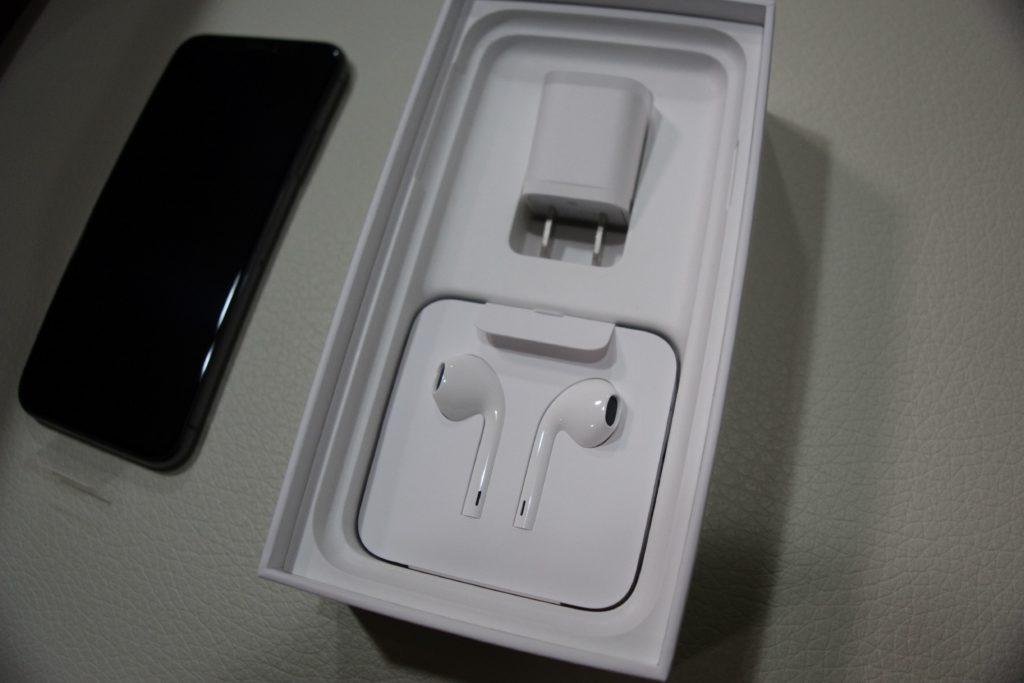 iPhone XS付属品