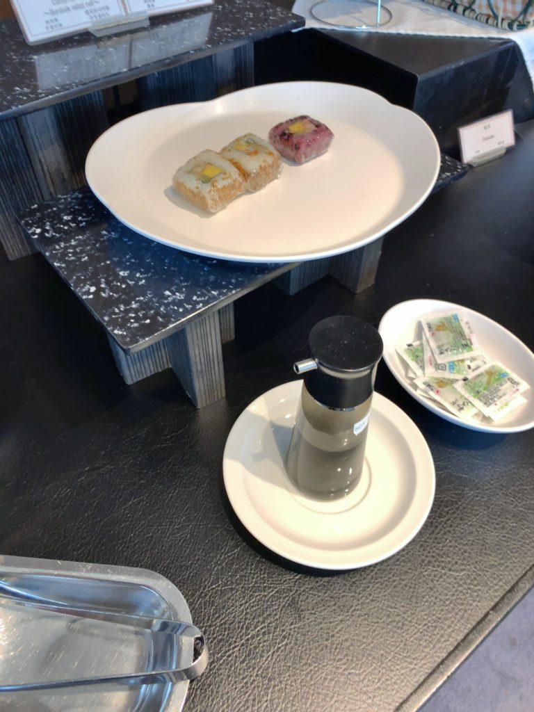 TIATラウンジ羽田空港国際線 食べ物