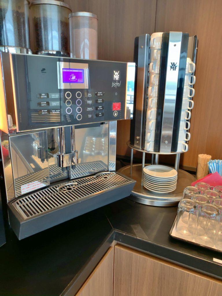 TIATラウンジ羽田空港国際線 コーヒーメーカー