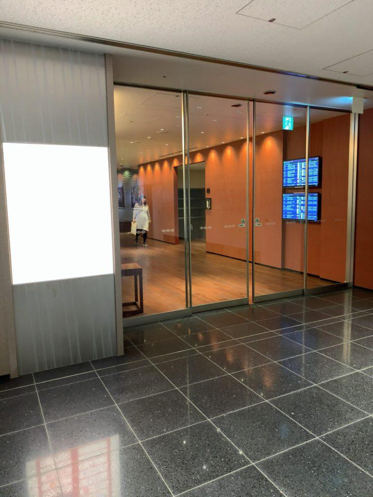 TIATラウンジANNEX羽田空港国際線 入口
