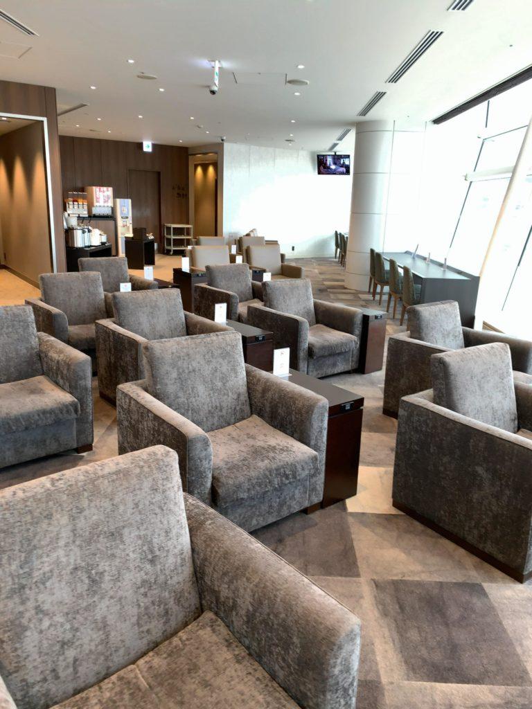 TIATラウンジ羽田空港国際線 座席3