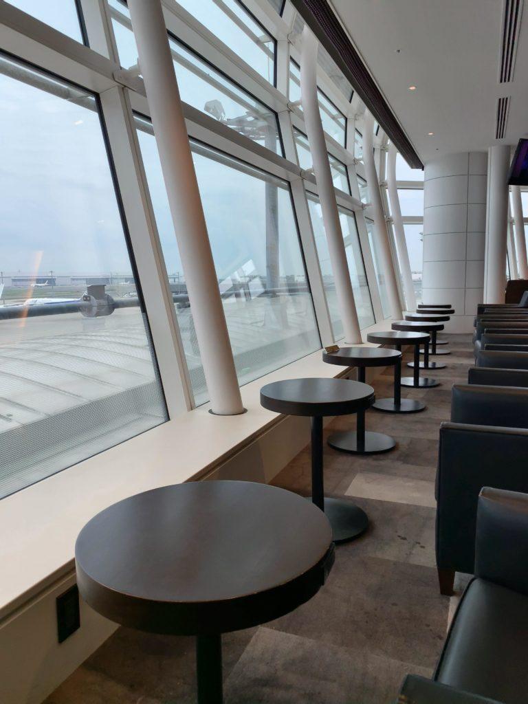 TIATラウンジ羽田空港国際線 座席4