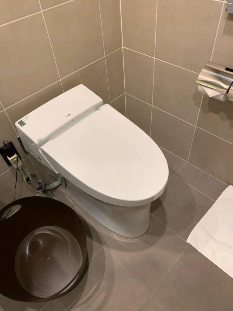 TIATラウンジ羽田空港国際線 シャワー トイレ