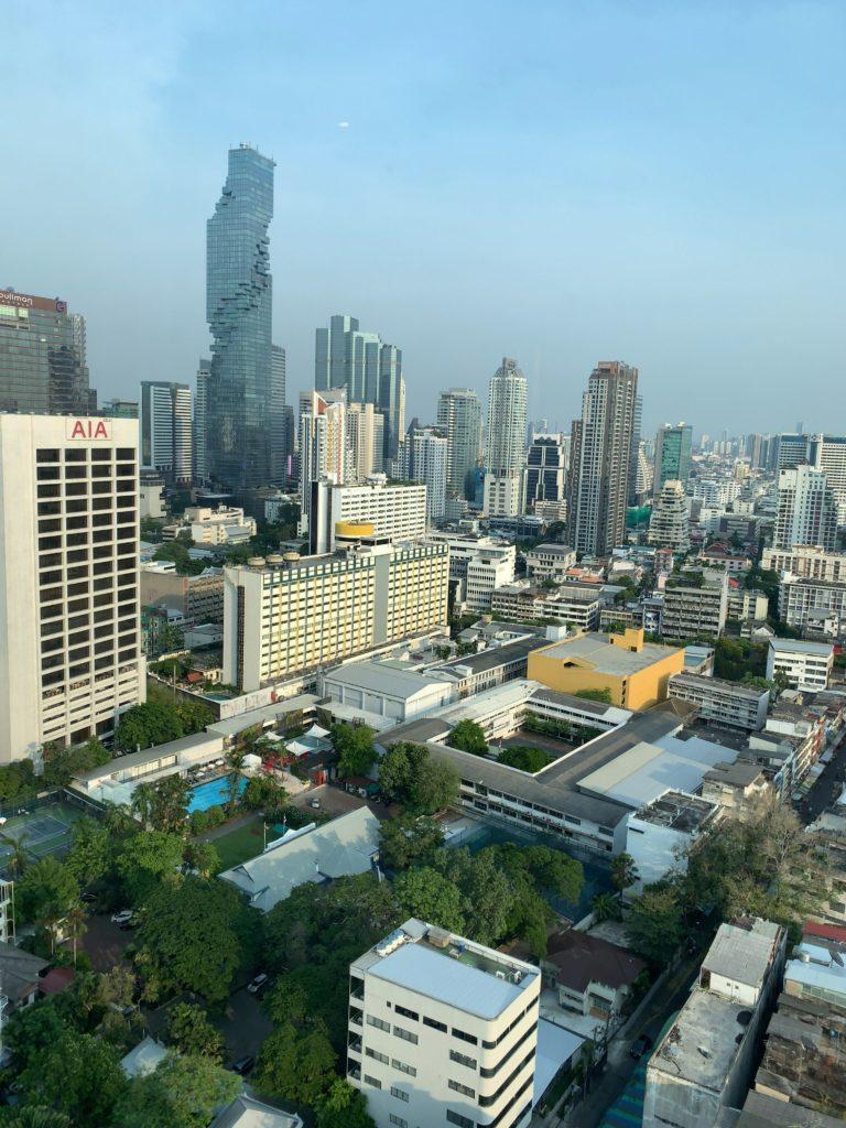 バンコク・マリオットホテル・ザ・スリウォンお部屋からの景色