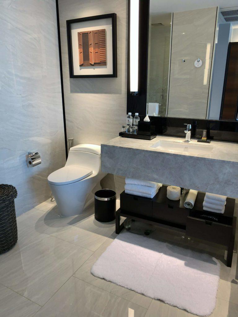 バンコク・マリオットホテル・ザ・スリウォン洗面所2