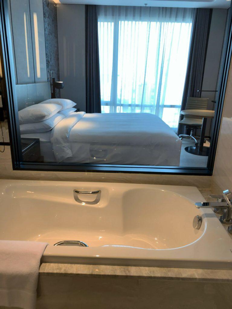 バンコク・マリオットホテル・ザ・スリウォンお風呂