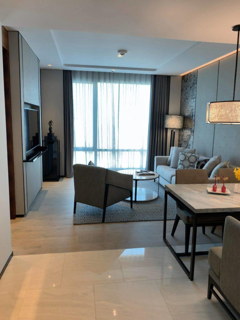バンコク・マリオットホテル・ザ・スリウォン部屋