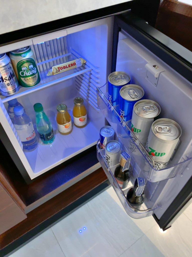 バンコク・マリオットホテル・ザ・スリウォン冷蔵庫