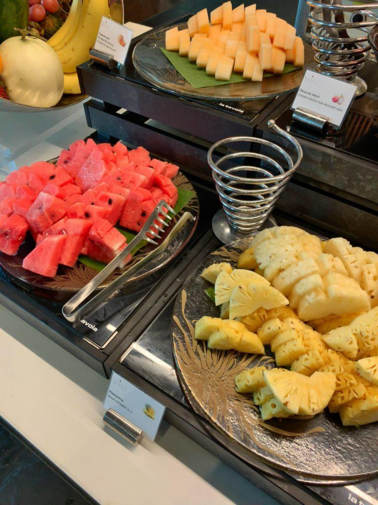 セントレジスバンコク朝食 フルーツ3
