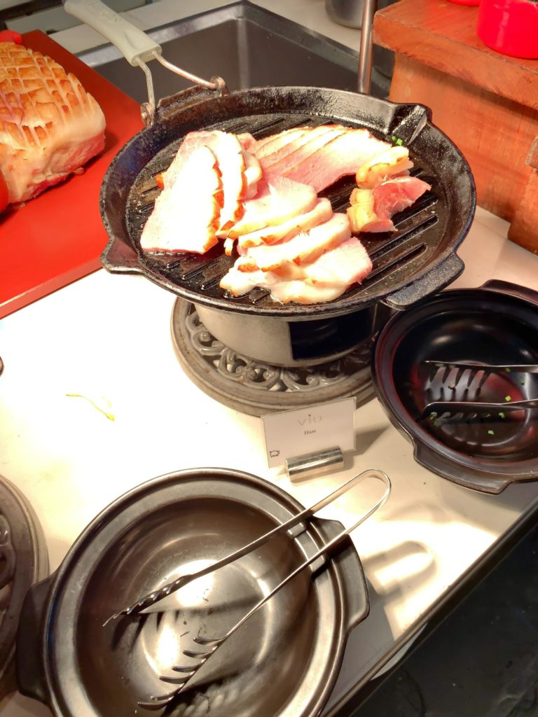 セントレジスバンコク朝食 ハム