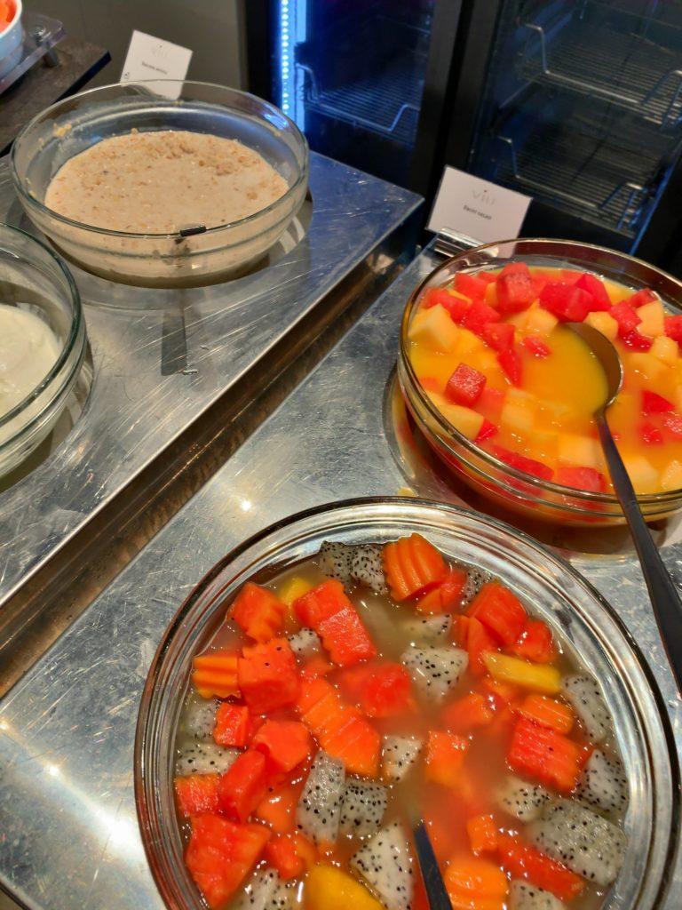 セントレジスバンコク朝食 デザート2
