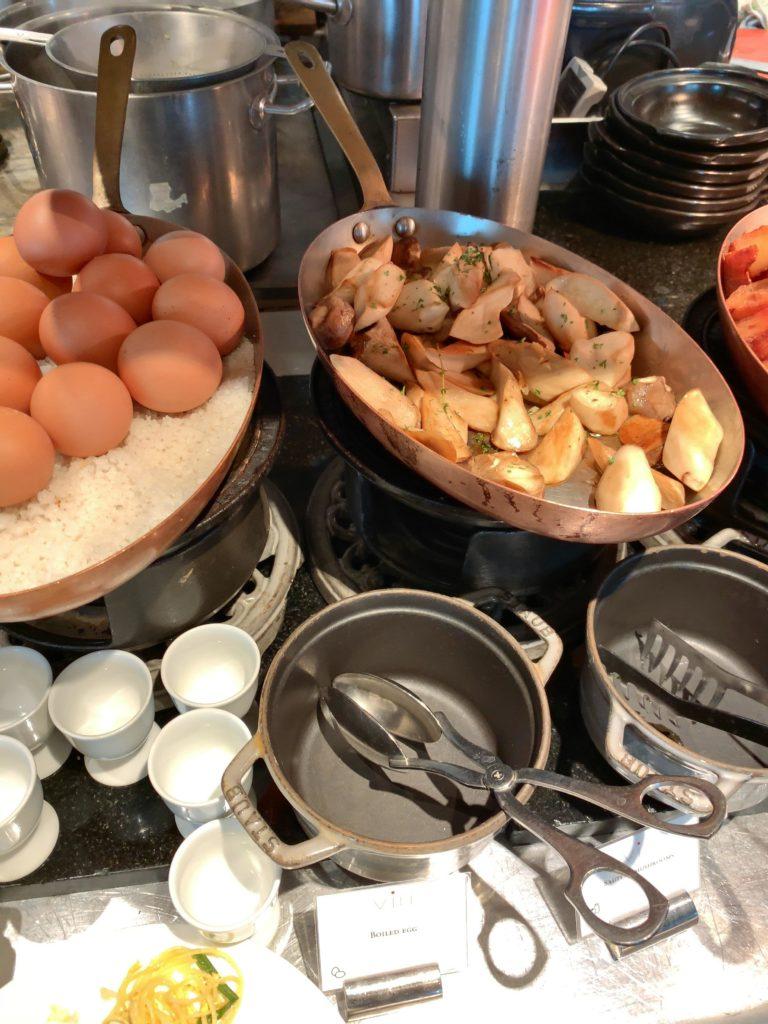 セントレジスバンコク朝食 ポテト