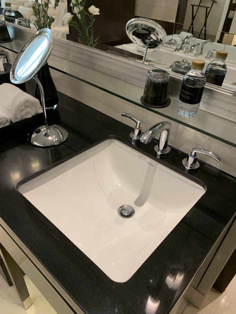 セントレジスバンコク洗面台