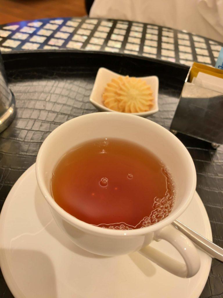 セントレジスバンコクバトラーサービスの紅茶
