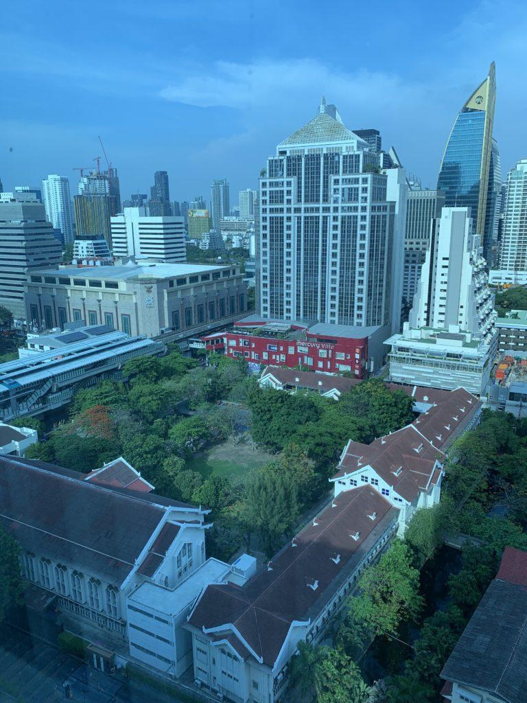 ルネッサンス・バンコク・ラッチャプラソーン・ホテル 景色