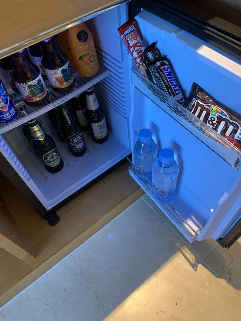 ルネッサンス・バンコク・ラッチャプラソーン・ホテル 冷蔵庫