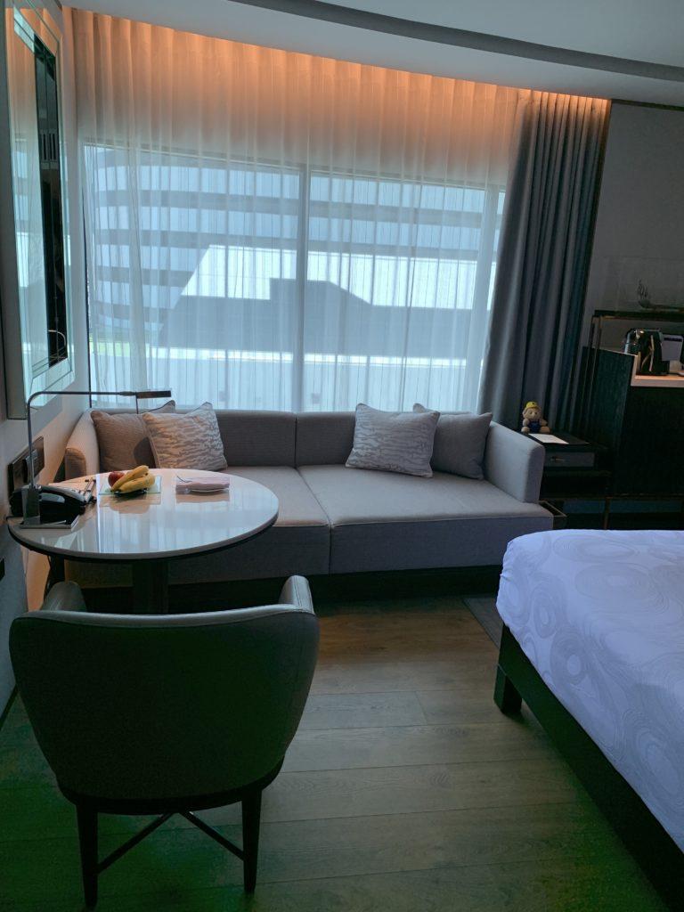 JWマリオット・ホテル・バンコクお部屋窓
