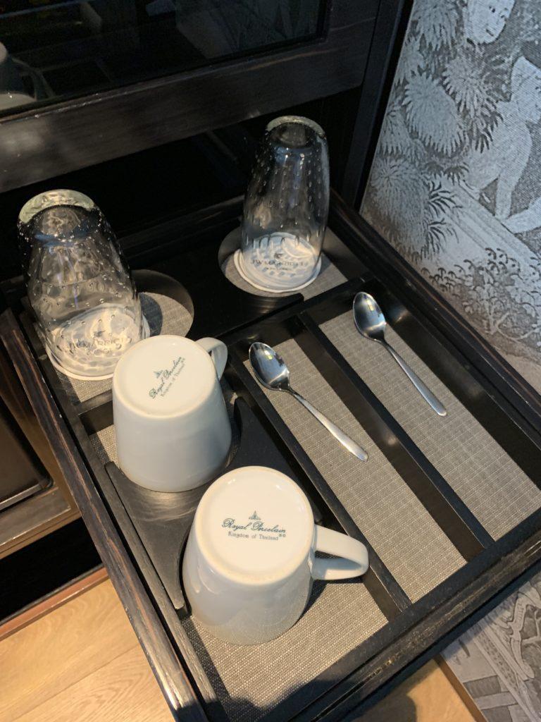 JWマリオット・ホテル・バンコクお部屋カトラリー