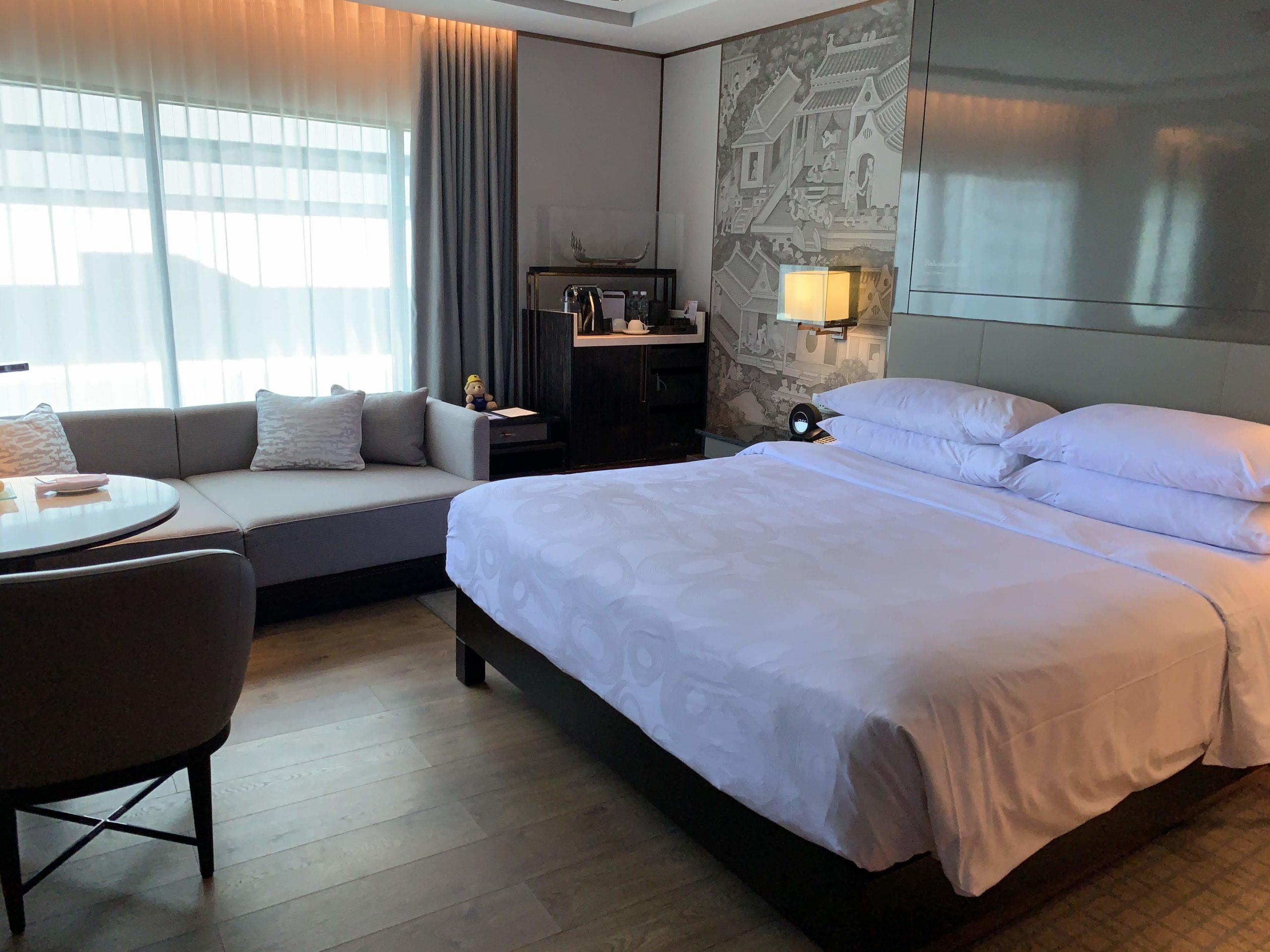 JWマリオット・ホテル・バンコクお部屋ベッド