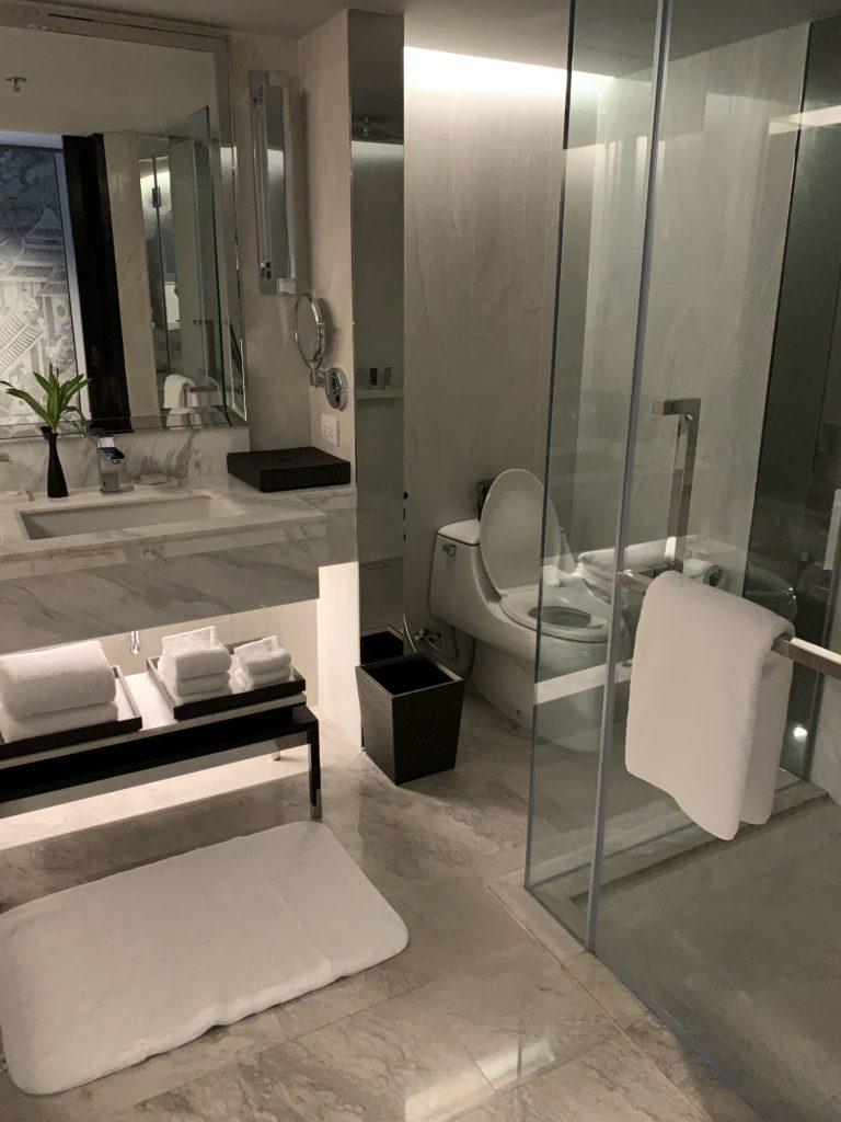 JWマリオット・ホテル・バンコクお部屋トイレ
