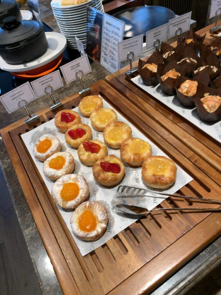 JWマリオット・ホテル・バンコク朝食パン