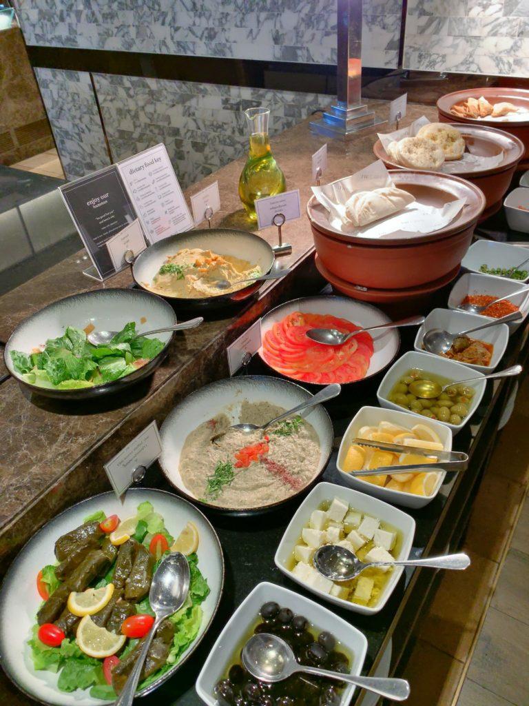 JWマリオット・ホテル・バンコク朝食野菜