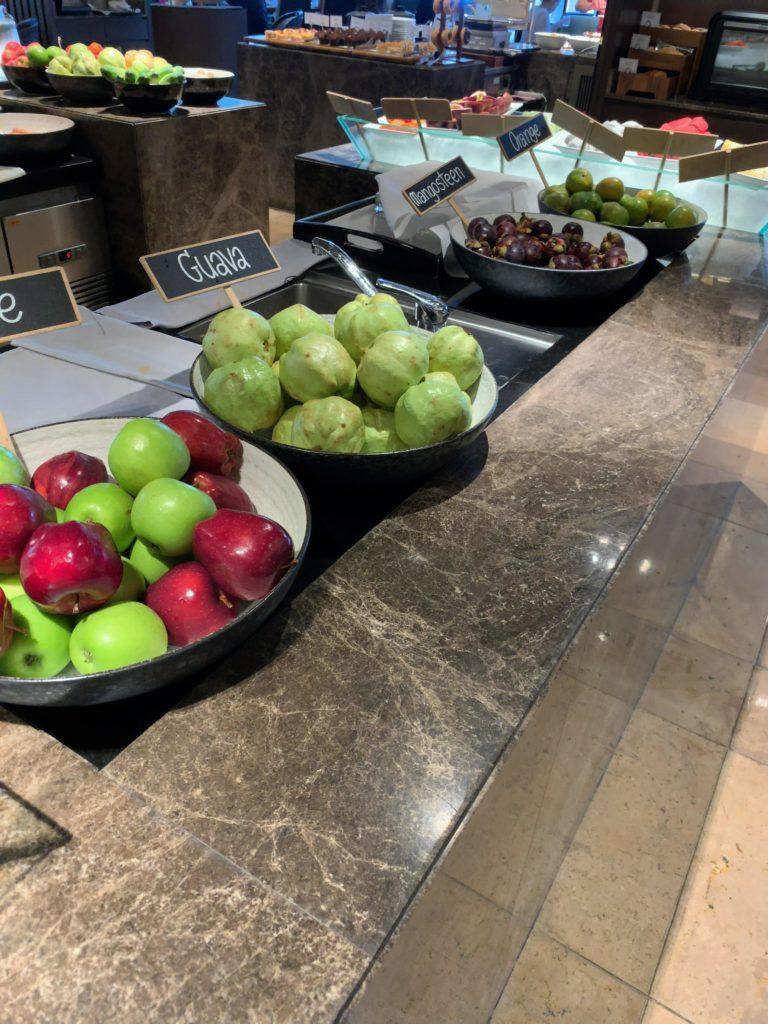 JWマリオット・ホテル・バンコク朝食フルーツ