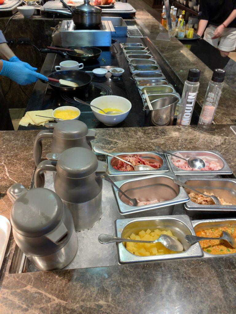 JWマリオット・ホテル・バンコク朝食エッグステーション