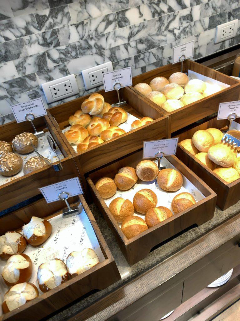 JWマリオット・ホテル・バンコク朝食パン3