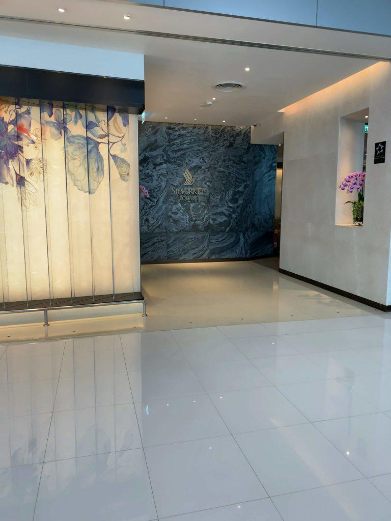 スワンナプーム空港シンガポール航空シルバークリスラウンジ